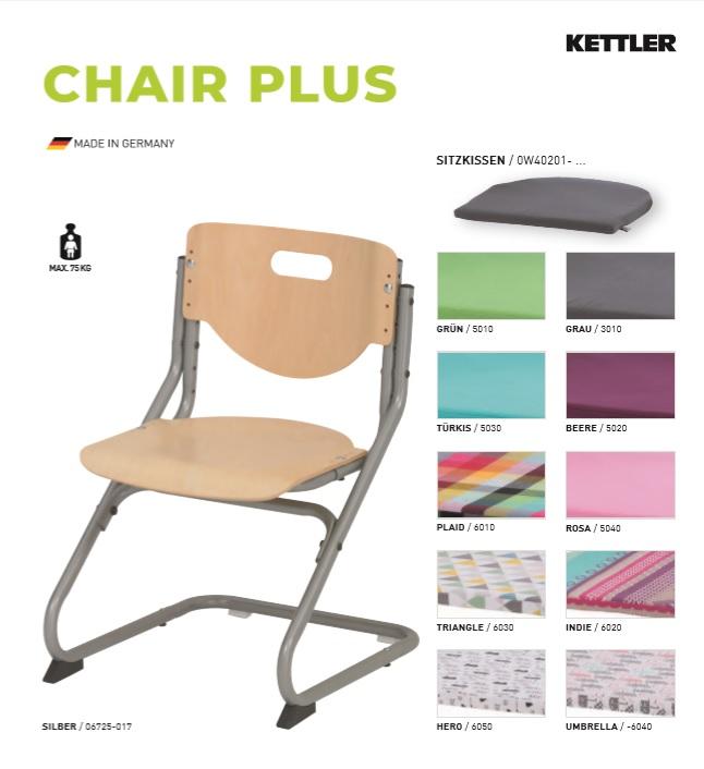 Krzesło Kettler Chair Plus buk